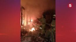 Три человека погибли при пожаре вИркутской области