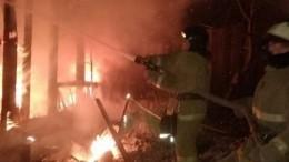 Четыре ребенка, спасенные при пожаре вИркутской области, скончались