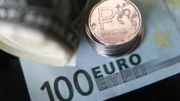 Курс Евро наМосбирже превысил 85 рублей