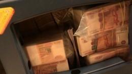 Видео, фото: вПетербурге раскрыта деятельность банды «теневых» банкиров