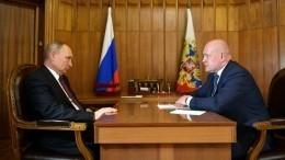 Владимир Путин провел рабочие встречи сглавами Крыма иСевастополя