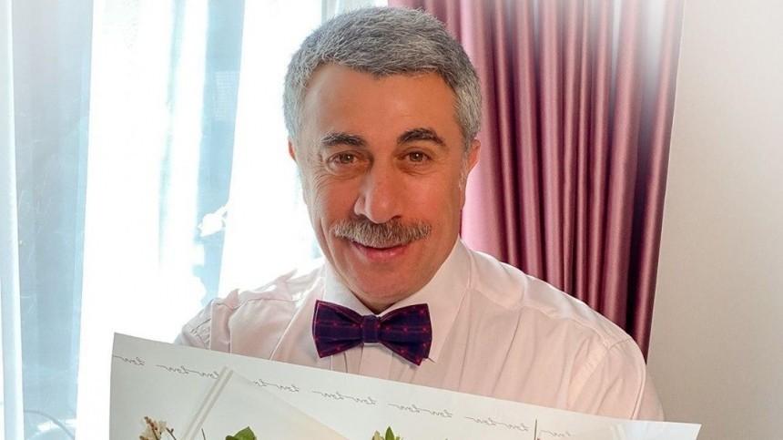 Доктор Комаровский объяснил, можноли заразиться коронавирусом вовремя секса
