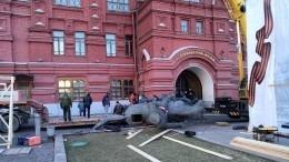 Демонтированный памятник маршалу Жукову вМоскве отправят нареставрацию