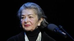«Невыносимые боли»: вдова Любимова рассказала, как чувствует себя после операции
