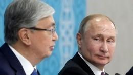 Путин обсудил спрезидентом Казахстана шаги попредотвращению распространения коронавируса