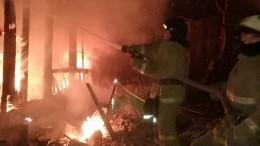 Изгорящего общежития наюго-востоке Москвы эвакуировали около 100 человек
