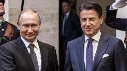 Путин ипремьер Италии обсудили борьбу скоронавирусом