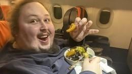 Сын Никаса Сафронова поставил цель поправиться до250 килограммов