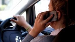 ГИБДД начнет фиксировать использование телефонов зарулем спомощью камер