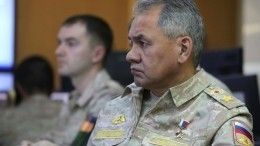 Шойгу провел вСирии переговоры сБашаром Асадом