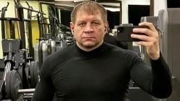 «Ятебя побью судовольствием»: Емельяненко бросил вызов Шлеменко