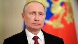 Владимир Путин выступит собращением кроссиянам из-за коронавируса