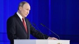 Названо время трансляции обращения Путина кроссиянам из-за коронавируса