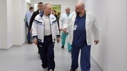 Песков заявил, что Путин чувствует себя хорошо после посещения больницы