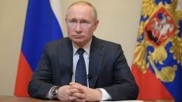 Путин объявил следующую неделю нерабочей из-за COVID-19