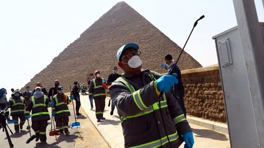 Египетские пирамиды теперь стерильны