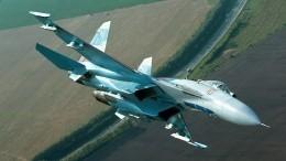 ВЧерном море продолжаются поиски пилота истребителя Су-27