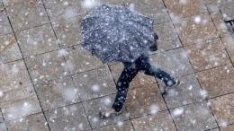 ВМоскве ожидается снег ипохолодание