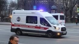 Видео изсадика вПетербурге, где наплощадке потеряла сознание, апозже умерла девочка