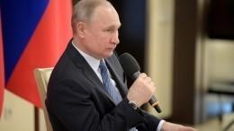 Путин заявил, что Россия победит коронавирус раньше чем через два-три месяца