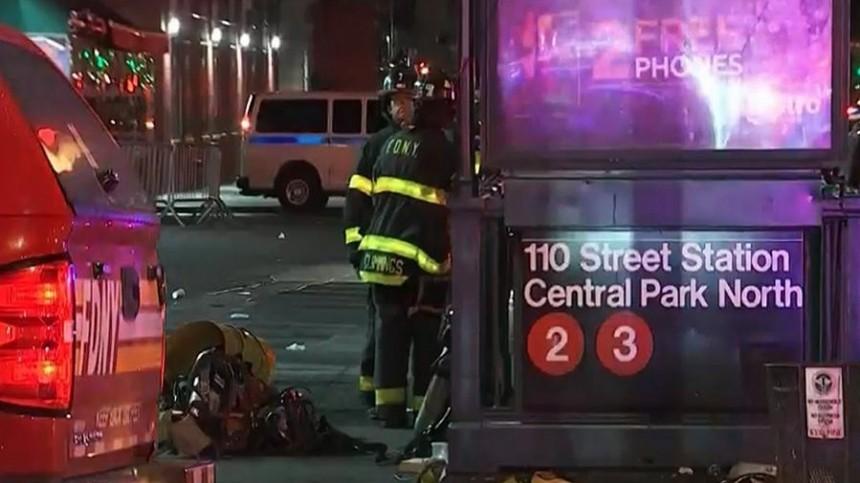 Один человек погиб при пожаре вметро закрытого накарантин Нью-Йорка