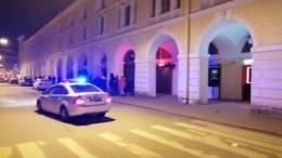 Видео: бары наДумской вПетербурге пришлось закрывать сполицией
