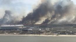 Пожарный погиб при тушении горящего камыша вРостове-на-Дону