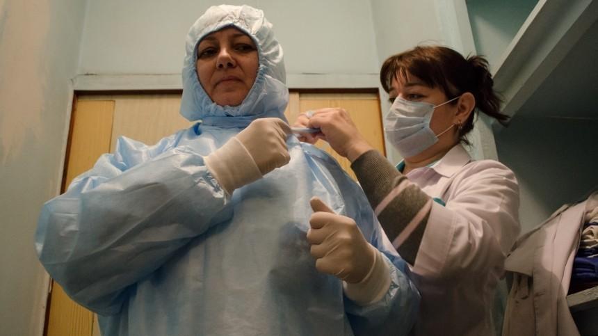 Медсестра заразилась коронавирусом вКрасноярске