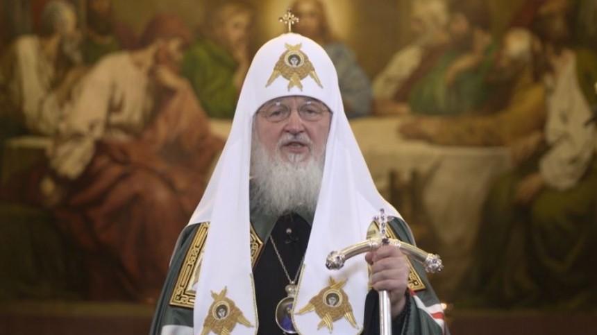 Видео обращения патриарха Кирилла кприхожанам всвязи скоронавирусом