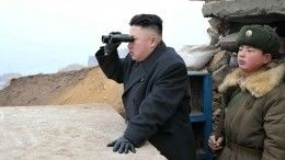 КНДР испытала многозарядную пусковую установку