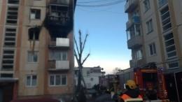 Видео сместа взрыва бытового газа вжилом доме под Красноярском