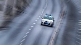 Девять патрулей участвовали впогоне занетрезвым водителем вПетербурге