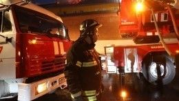 При пожаре вгоспитале вМоскве пострадал один человек