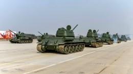 Подготовка кПараду Победы вМоскве идет поплану