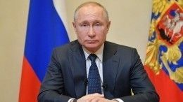 Владимир Путин обратился кроссиянам из-за коронавируса