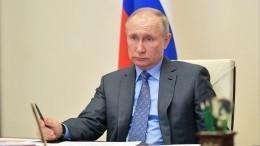 Владимир Путин продлил режим нерабочих дней до30апреля