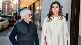 «Уменя будет мальчик»: 89-летний миллиардер Берни Экклстоун вновь станет отцом