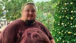 Как выглядел сын Никаса Сафронова доогромного набора веса