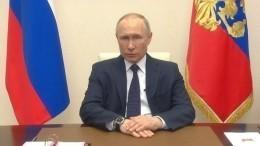 Песков объяснил отставание часов Путина отреального времени трансляции обращения
