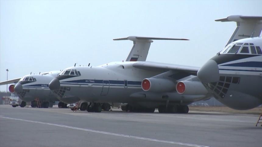 ВСербию прибыл третий самолет ВКС РФспомощью для борьбы скоронавирусом