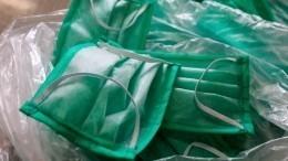 ВОЗ прокомментировала массовое распространение самодельных защитных масок