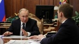 Путину доложили оходе строительства соцобъектов вБурятии иЗабайкалье