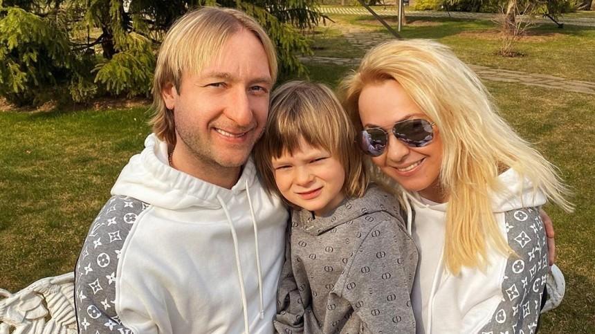 Сколько миллионов вгод зарабатывает семилетний сын Евгения Плющенко?