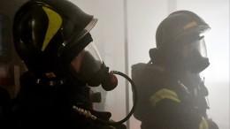 Пятьдесят человек эвакуировано изгорящего дома престарелых вМоскве