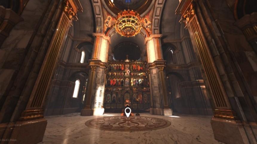 «Добро пожаловать»: всети создали виртуальный православный храм