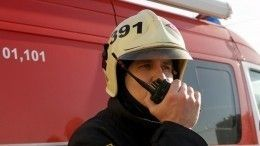 Видео сместа взрыва вздании бизнес-центра вМоскве