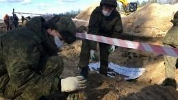Останки 75 советских солдат нашли утрассы «Кола» вЛенобласти