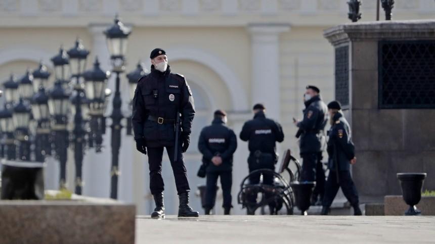 Стали известны подробности задержания мужчины сгранатами наМанежной площади вМоскве