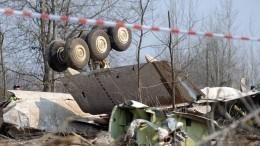 ВСКрассказали оходе расследования крушения польского самолета Ту-154М под Смоленском
