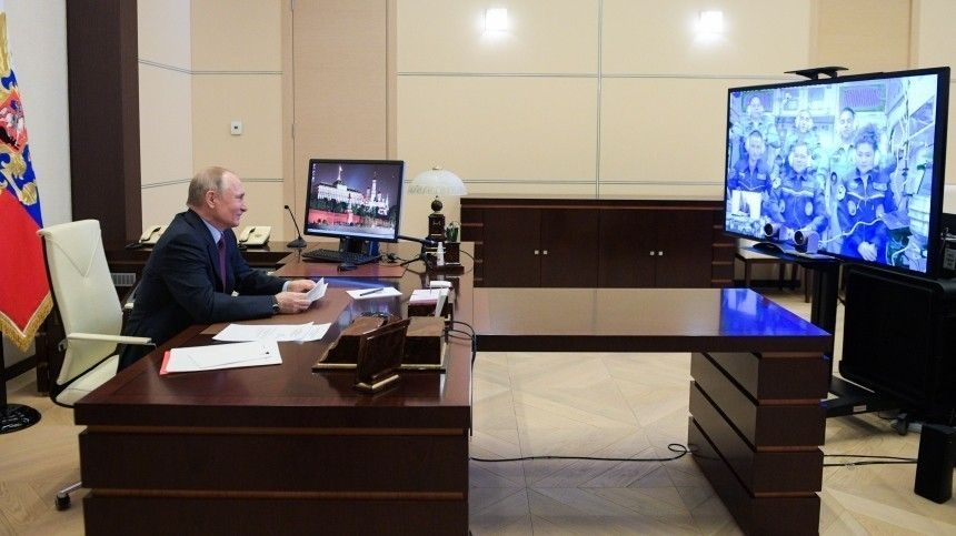 Путин: лидерство России попилотируемым полетам вкосмос нужно сохранить